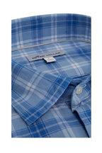 Peter Millar - Windsail Blue Plaid Sport Shirt