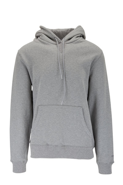 Swet Tailor - Solid Gray Drawstring Hoodie