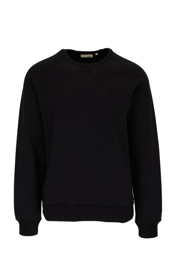 Swet Tailor Black Raglan Crewneck Sweatshirt