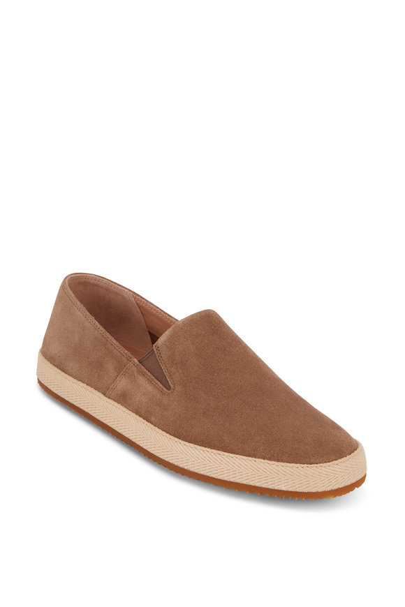 Vince Chesner Flint Suede Slip-On Sneaker