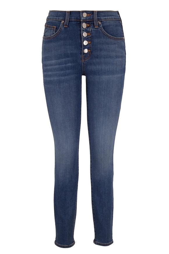 Veronica Beard Debbie Putnam High-Rise Skinny Jean