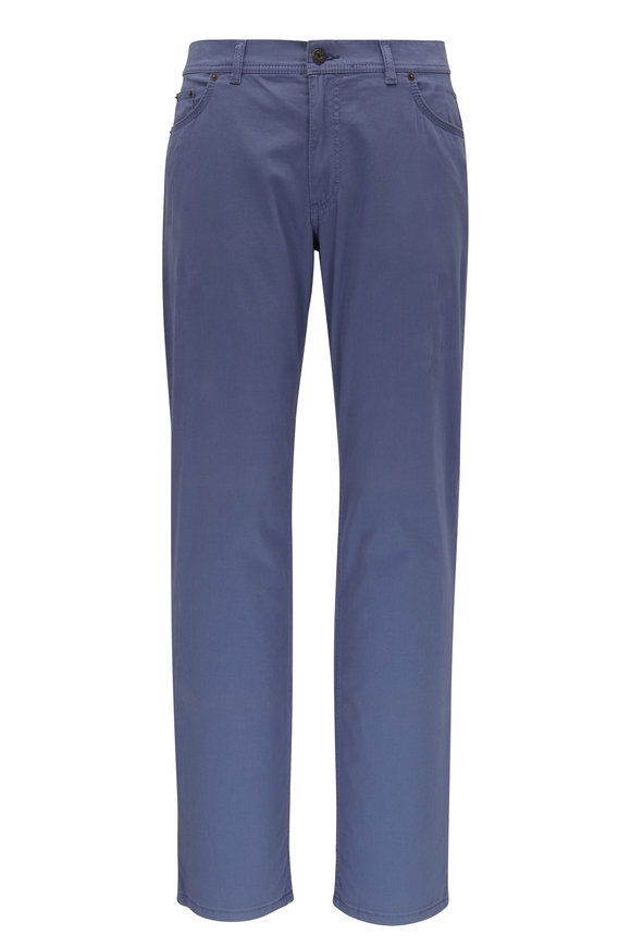 Brax Cooper Fancy Blue Five Pocket Pant