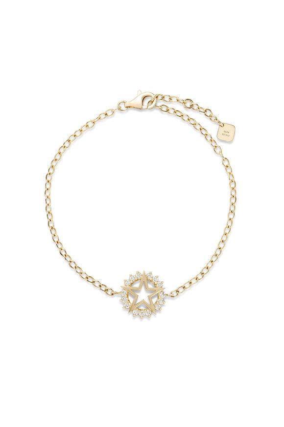 Nouvel Heritage 18K Yellow Gold Mystic Medium Star Bracelet
