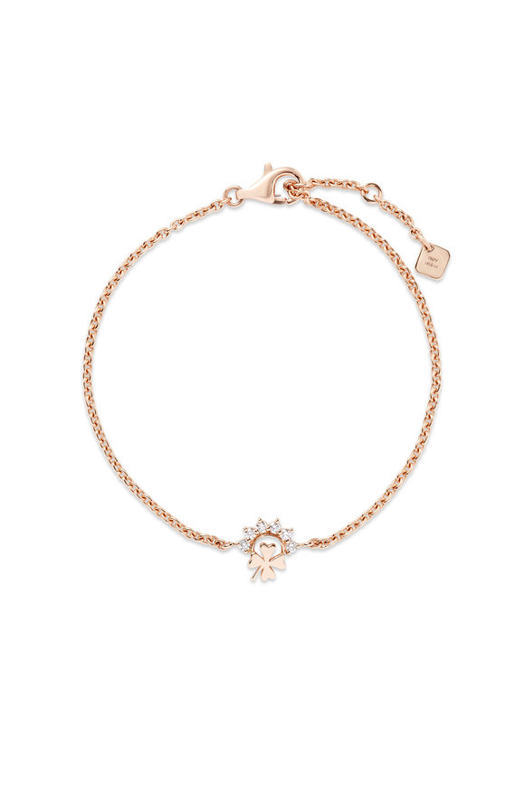 Nouvel Heritage 18K Rose Gold Mystic Luck Bracelet