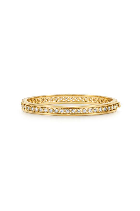 Temple St. Clair 18K Yellow Gold Eternity Bracelet