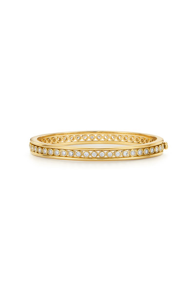 Temple St. Clair - 18K Yellow Gold Eternity Bracelet