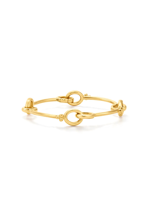 Temple St. Clair 18K Yellow Gold Orsina Link Bracelet