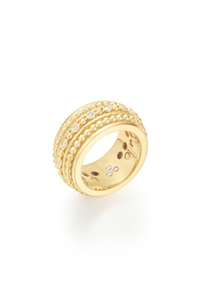 Temple St. Clair - 18K Yellow Gold Diamond Ring