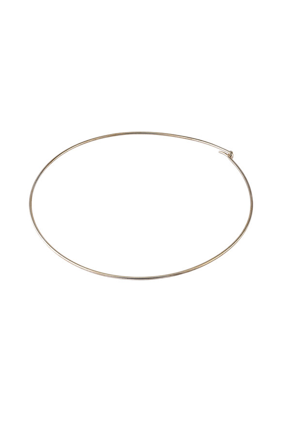Sylva & Cie 18K White Gold Choker