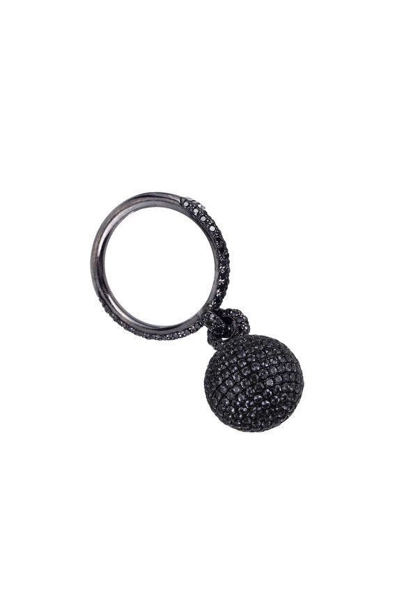 Mariani 18K Gold Bellagio Black Diamond Ring