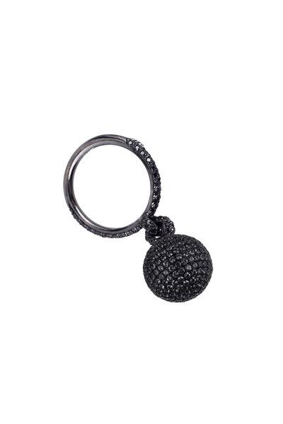 Mariani - 18K Gold Bellagio Black Diamond Ring