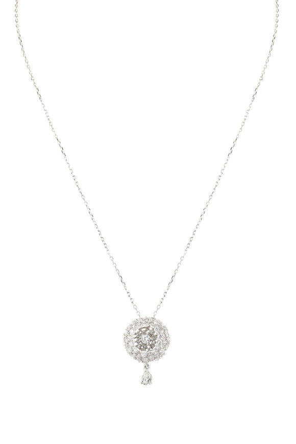 Mariani 18K White Gold Diamond Necklace