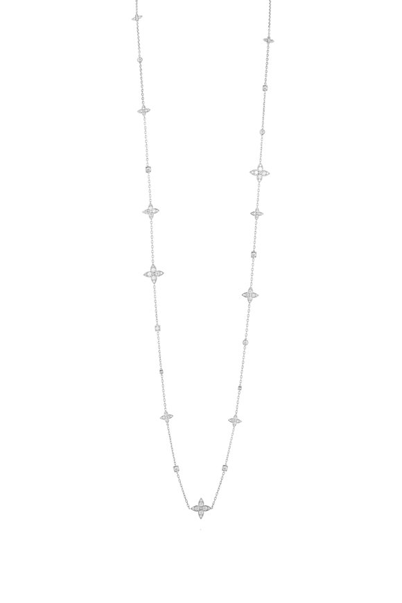 Mariani 18K White Gold Lucilla Diamond Necklace