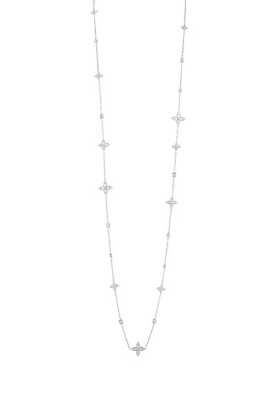 Mariani - 18K White Gold Lucilla Diamond Necklace