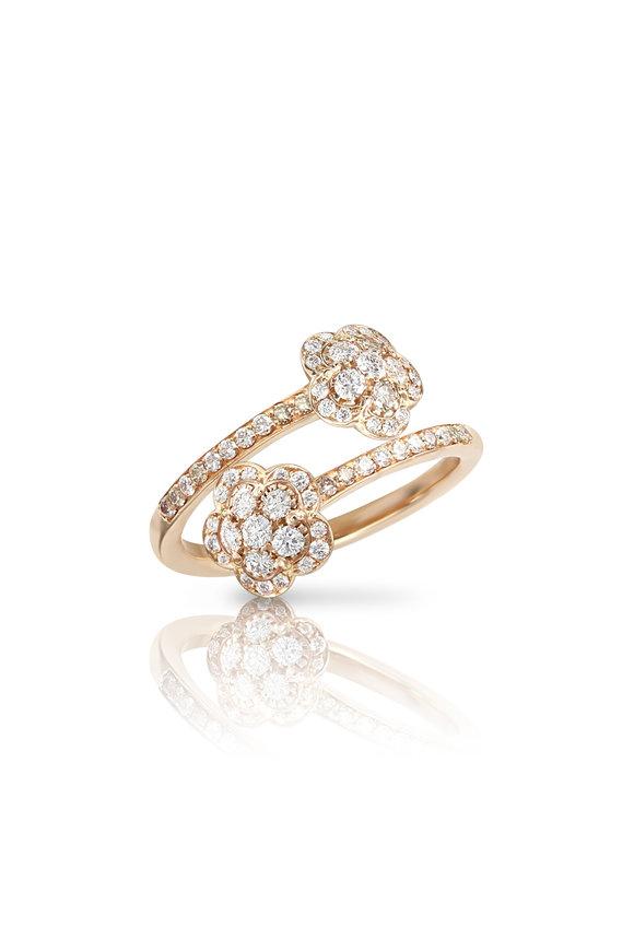 Pasquale Bruni 18K Rose Figlia Dei Fiori Diamond Ring