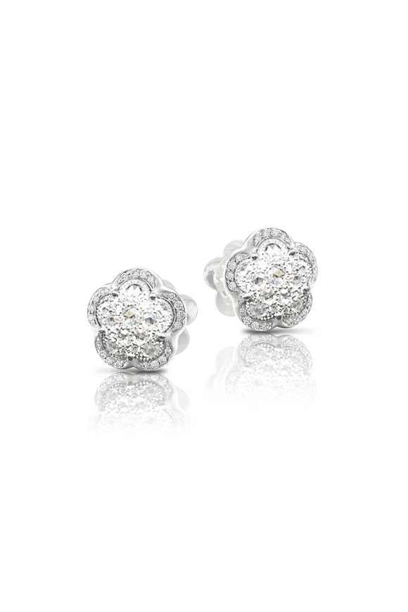 Pasquale Bruni 18K White Gold Bon Ton Earrings