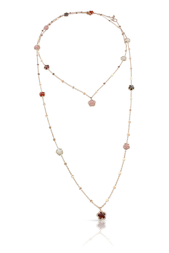 Pasquale Bruni 18K Rose Gold Figlia Dei Fiori Necklace
