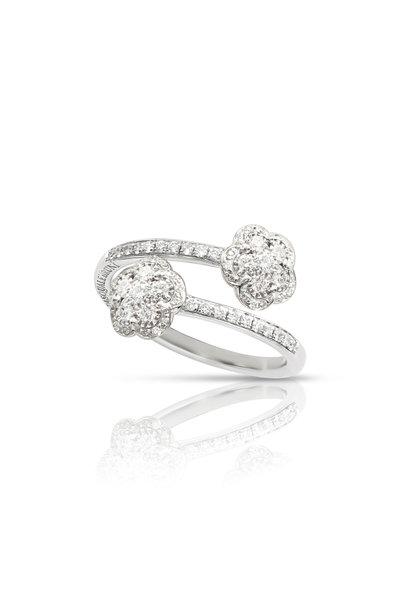 Pasquale Bruni - 18K White Gold Giflia Dei Fiori Diamond Ring