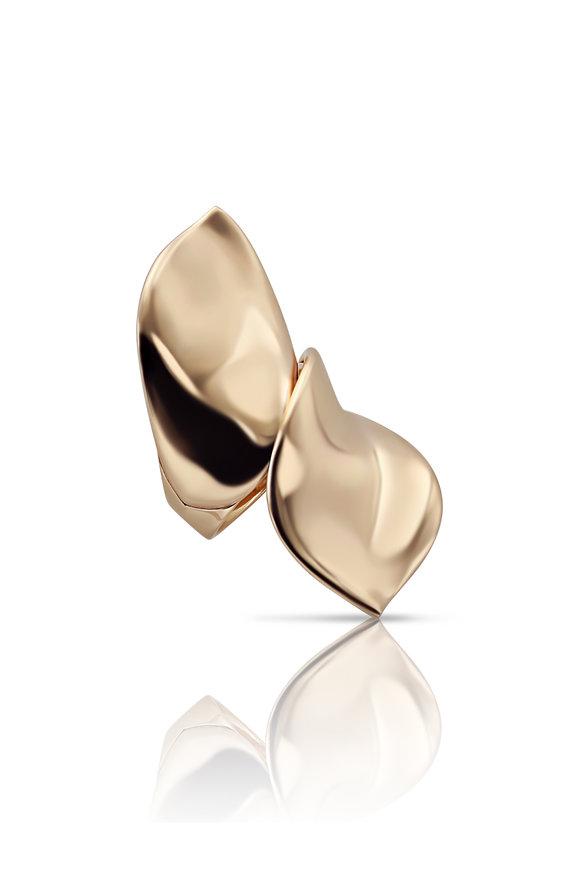 Pasquale Bruni 18K Rose Gold Lakshimi Petal Ring