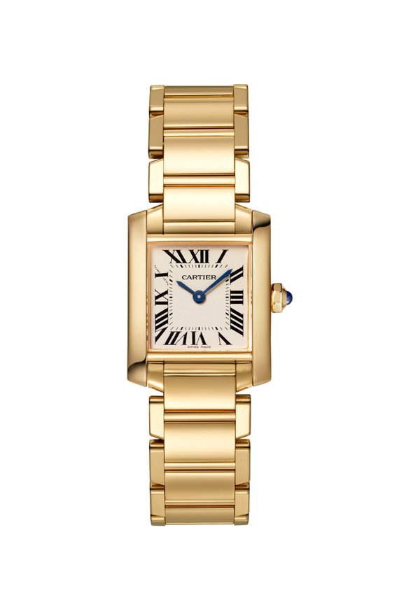 Cartier Yellow Gold Tank Francaise Small Watch