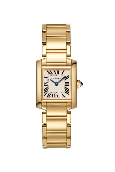 Cartier - Yellow Gold Tank Francaise Small Watch