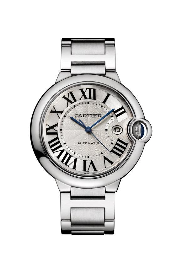 Cartier Ballon Bleu De Cartier Steel Watch, 42MM
