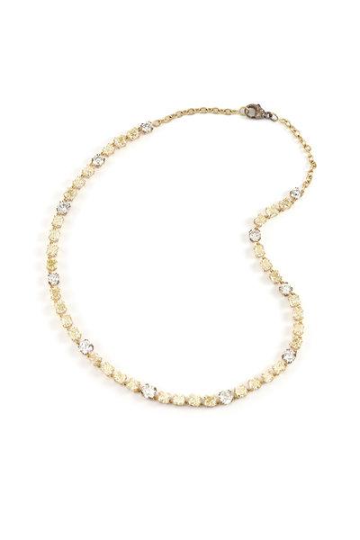 Sylva & Cie - 18K Yellow Gold Yellow Diamond Necklace