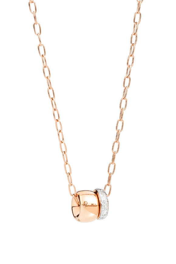 Pomellato 18K Rose Gold Iconic Pendant Necklace