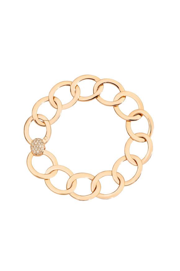 Pomellato 18K Rose Gold Brera Medium Diamond Bracelet