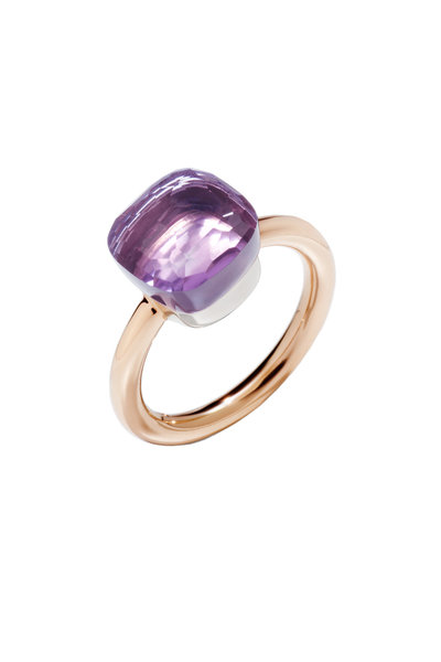 Pomellato - 18K Rose Gold Nudo Rose De France Ring
