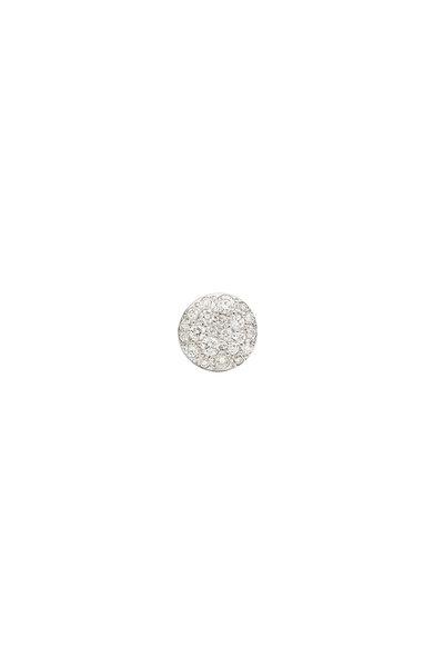 Pomellato - 18K Rose Gold Sabbia Diamond Disc Earrings