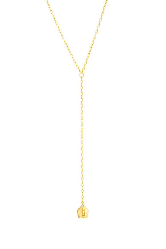 Haute Victoire 18K Yellow Gold Diamond Necklace