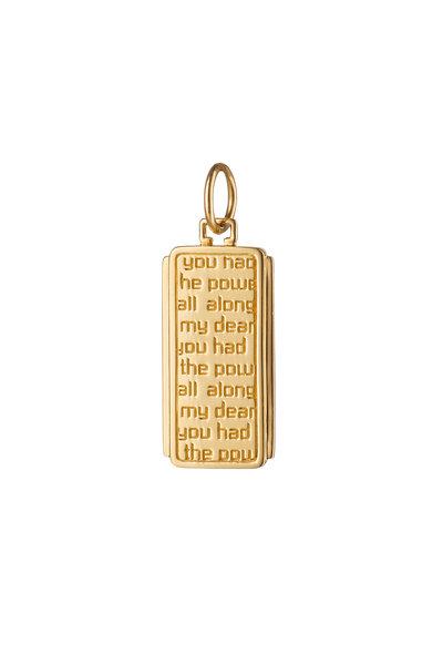 Monica Rich Kosann - 18K Yellow Gold Dorothy Medallion