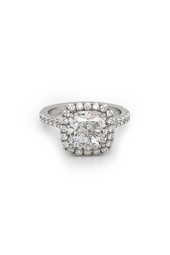 Louis Newman Diamond Bridal Ring