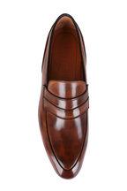 Bontoni - Principe Light Brown Leather Loafer