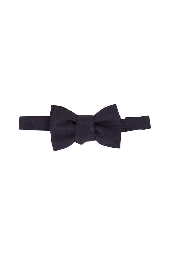 Charvet Dark Navy Pre-Tie Bowtie