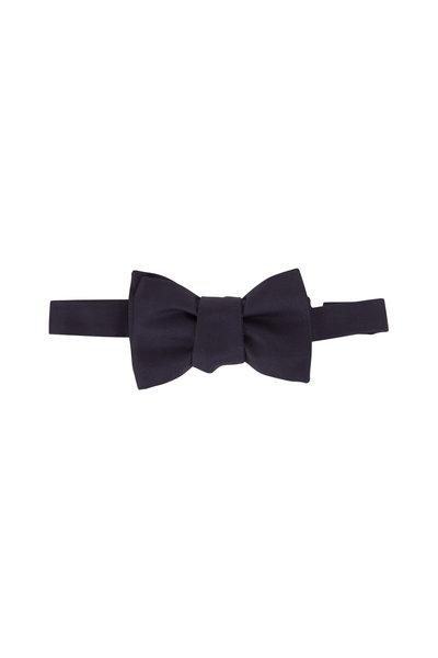 Charvet - Dark Navy Pre-Tie Bowtie