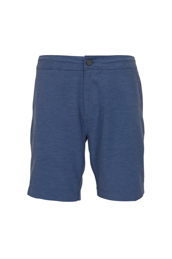 Faherty Brand All Day Navy Shorts
