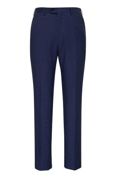 Brioni - Blue Wool Dress Pant