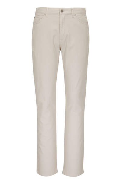 Peter Millar - Stone Four-Way Stretch Cotton Five Pocket Pant