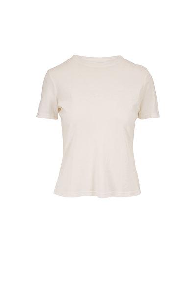 John Elliott - White Cotton High Twist T-Shirt