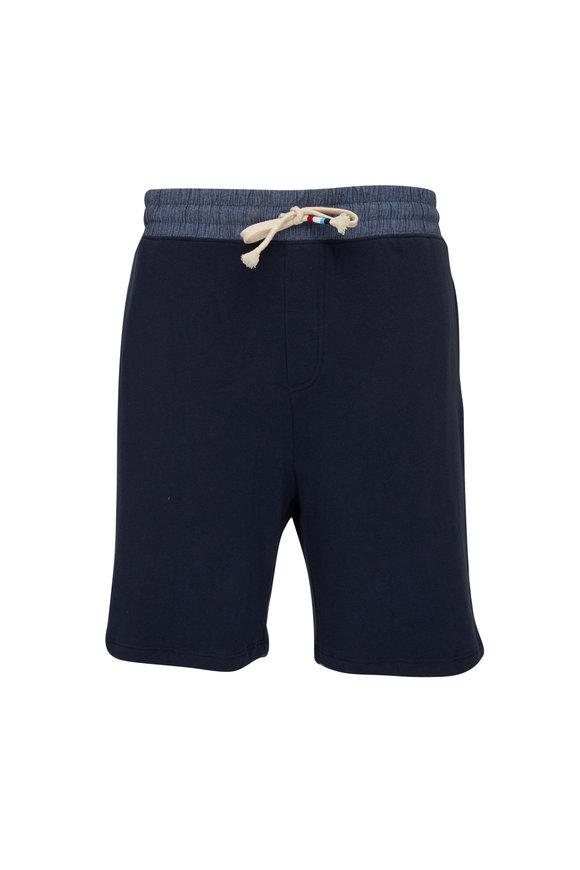 Sol Angeles Indigo Sherpa Sweat Shorts