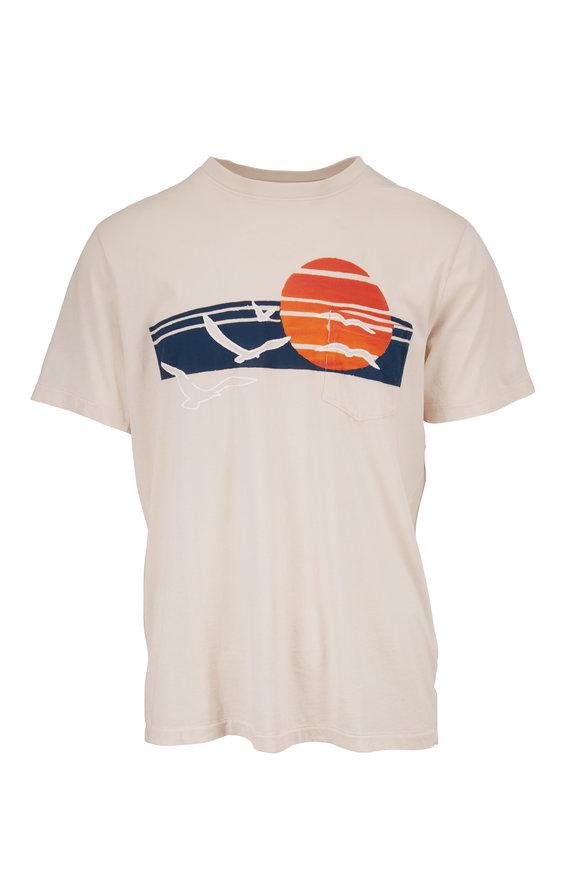 Sol Angeles Ecru Venice Sunset Graphic T-Shirt