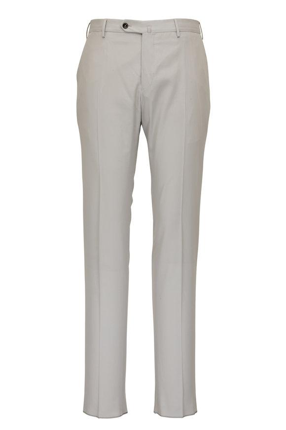 PT Torino Stone Twill Flat Front Pant
