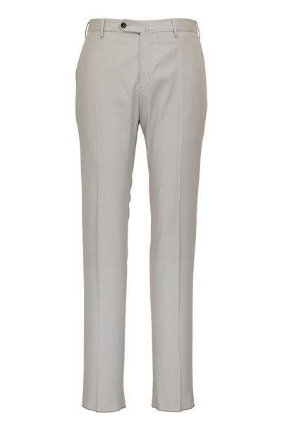 PT Torino - Stone Twill Flat Front Pant