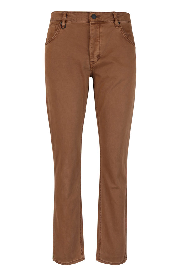 NEUW Lou Tobacco Slim Fit Five Pocket Jean