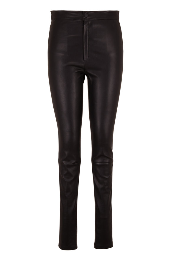 Zeynep Arcay Black Leather Legging