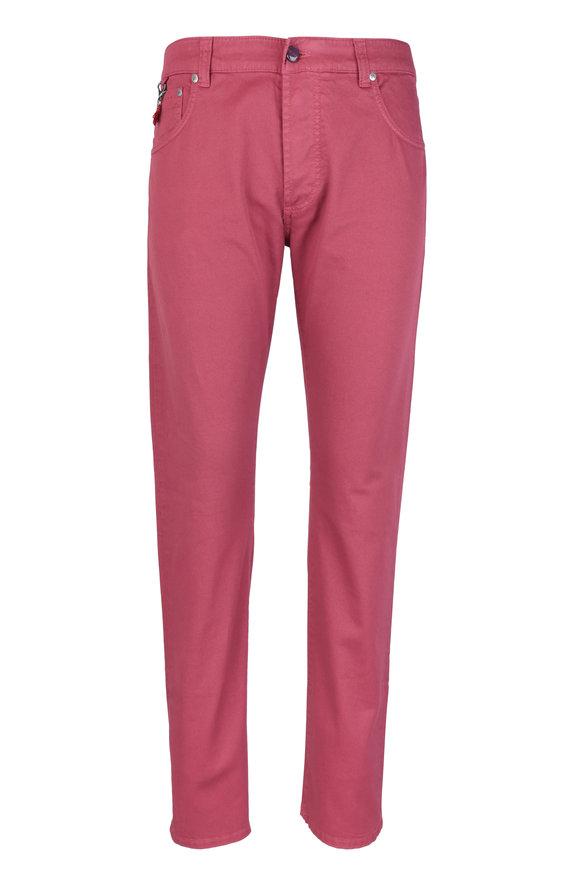 Isaia Rose Five Pocket Jean