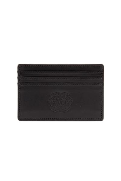 Ghurka - Black Slim Card Case