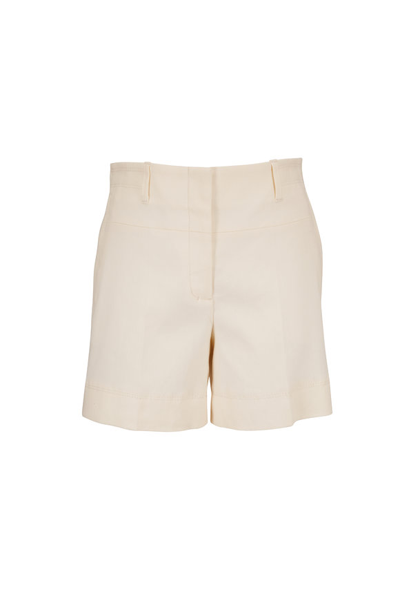 Dorothee Schumacher Urban Spirit Canvas White Shorts